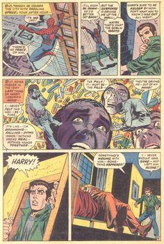 The Amazing Spider-Man - art by John Romita and Gil Kane