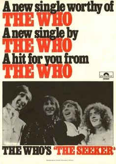 The Who Live, John Entwistle, Pete Townshend, Roger Daltrey, Tina Turner, Classic Rock, Betty Boop, Rock Bands, Singer