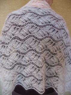 estonian lace shawl by cottonwonderland on Etsy, £50.00
