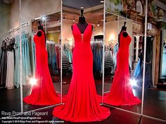 Looking for a simple yet elegant evening gown? Then this is the dress for you... no explanation needed! And it's at Rsvp Prom and Pageant, your source for the HOTTEST prom and pageant dresses!
