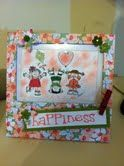 artwork or picture frame  Stampin Up