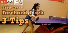12 Best Table Tennis Tips (Chinese Coach) images | Tennis