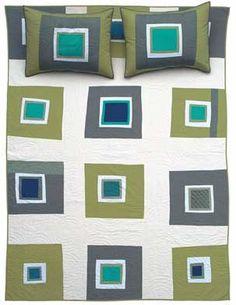 Pretty Square Green Lovely color combination & design.