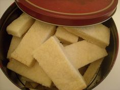 Pan Shortbread (also known to some as Scottish Shortbread)