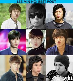 Toughest decision you'll make all day. Which is Lee Min Ho's best pout?