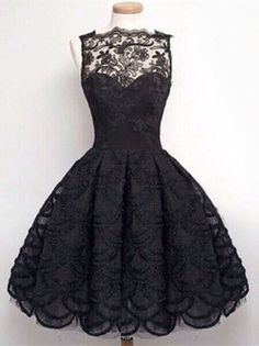 e0e49aa16 Stylish Round Neck Sleeveless Solid Color Hollow Out Lace Women s Dress  Dress Lace