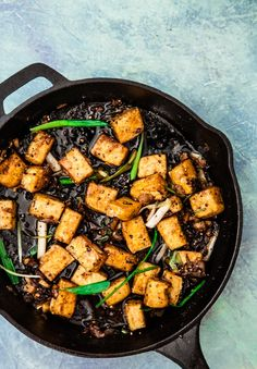 Ottolenghi's Black Pepper Tofu via Gratinée