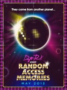Daft Punk Random Access Memories Poster Contest