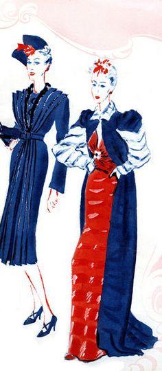 """French fashion: Lucien Lelong."""