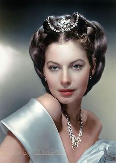 Colorization (Ava Gardner by Olga)