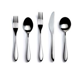 David Mellor City Stainless Steel 5 Piece Place Setting