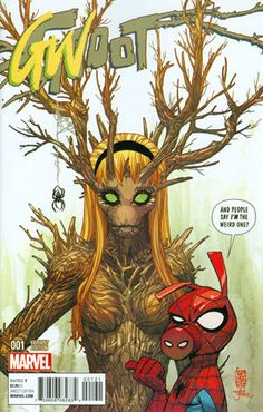 *High Grade* (W) Jeff Loveness (A) Brian Kesinger (CA) TBD • For the first time ever, the most famous talking-tree-thing in the Marvel Universe is starring in his own series! You might recognize him f