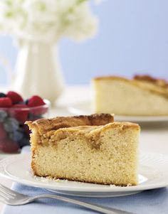 Crunchy Coffee Cake  Delicately sweet, with a texture that makes everyone smile, breakfast cakes such as these can be created in little time with absolutely no special equipment.
