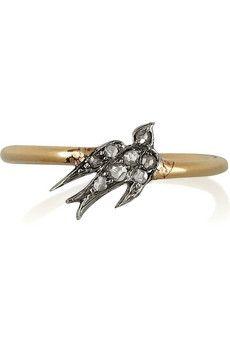 Annina Vogel ( diamond swallow ring)