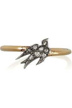 Annina Vogel ( diamond swallow ring)