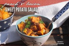 Adventures in Partaking: Peach and Bacon Sweet Potato Salad {Paleo, AIP, Wh...