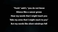 sound of silence disturbed - YouTube
