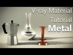 ▶ Vray Metal material tutorial in 3ds Max - YouTube