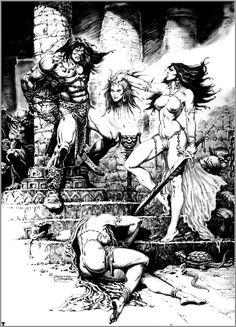 Fantasy Art of Brocal Remohi ::: КРЕАТИВ » Рисунки / фентези / фото 103212 871 x 1210 io.ua