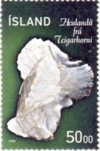 Sello: Minerals (Islandia) (Minerals) Mi:IS 918,Sn:IS 886,Yt:IS 871,AFA:IS 903