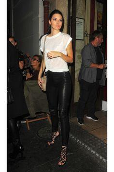 60bfbfb576b5 pantalon cuir Mode Femme, Pantalon Cuir, Tenue Pantalons, Chaussure,  Garde-robe