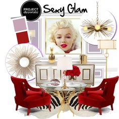 Project Decorate: Sexy Glam With Honey Were Home Estilo Hollywood Regency, Hollywood Regency Decor, Glam Living Room, Living Room Decor, Home Decor Furniture, Home Decor Items, Hollywood Furniture, Mood Board Interior, Glam House