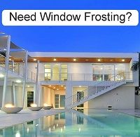 O2 Designs Window Frosting specialises in Frosted Windows and Glass. Frost effect window films are an easy to apply self-adhesive vinyl which once applied, gives the appearance of frosted or etch glass to windows, doors and mirrors, and renders the glass opaque. Kempton park, East Rand, Midrand & Johannesburg