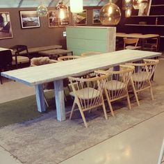 #1862 laangt #spisebord  farge: grå matt. #allemål #håndlagetavoss #barefordeg #bærekraftig #kortreist www.drivved.no #scandicool