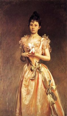 John Singer Sargent (American expatriate artist, 1856-1925) Grace Woodhouse  It's About Time
