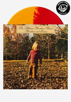 The Allman Brothers Band - Brothers and Sisters - Newbury Comics Exclusive Color Vinyl Pressing - 1000 made! #records #vinyl #lp #classicrock #duaneallman #guitar #fillmoreeast #capricornrecords