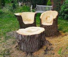 Resultado de imagem para bancos madeira jardins