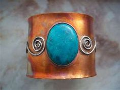 copper and turquoise ypu know you got to have this !