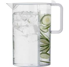 Ceylon Pitcher by Bodum. I wish this was glass! Imagine the suntea you could make in it! mint! ack!