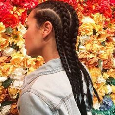 Braided Hairstyles For White Women 26 - Everything Haircare and Hairstyles - Französischer Zopf Cornrows Braids White, Cornrow Hairstyles White, 4 Braids Hairstyle, White Girl Braids, Pretty Braided Hairstyles, Braided Hairstyles For Black Women, Girls Braids, Girl Hairstyles, White Girl Cornrows