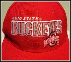 VINTAGE OHIO STATE BUCKEYES EMBROIDERED NIKE SPORTS SPECIALTIES SNAPBACK CAP #Nike #OhioStateBuckeyes