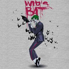 Camiseta 'Who's BAT' - Catalogo Camiseteria.com | Camisetas Camiseteria.com - Estampa, camiseta exclusiva. Faça a sua moda!