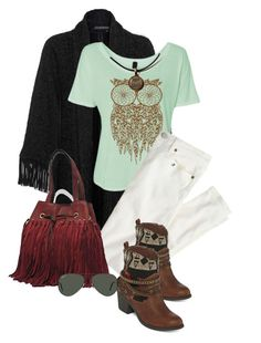 """""""Oregon Country Fair"""" by seahag2903 ❤ liked on Polyvore featuring J.Crew, POP, FC Select Design, Ray-Ban and country"""
