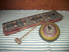 1920's Xylophone, Spinning Top