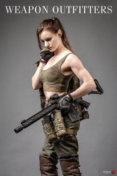 Ethereal Rose, as a modern Tactical Elf.High Speed Gear v 2.0 Leg Rigs. Lightweight, ready to roll out of the box!QD Brake Shields for AAC Muzzle Devices. Especially handy for muzzle brakes and directing concussion away from shooters
