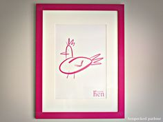 Hen Party Keepsake Framed Print