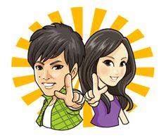 Free Mr. Matsuzaka & Ms. Horikita Line Sticker - http://www.line-stickers.com/mr-matsuzaka-ms-horikita/