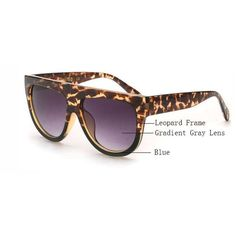 Flat Top Mirror Sunglasses