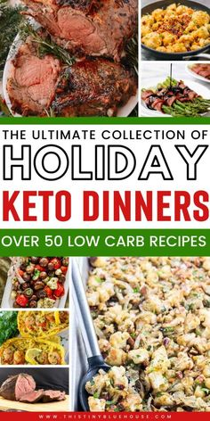 here are delicious Christmas dinner ideas that will make sticking to Keto during the holiday a breeze. Easy, delicious and Keto friendly these recipes are a guaranteed hit! Keto Thanksgiving Dinner, Keto Dinner, Low Carb Keto, Low Carb Recipes, Healthy Recipes, Pork Casserole, Casserole Recipes, Paleo Salmon Cakes, Dinner Recipes