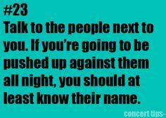 good advise. veryy good advise. it makes it a lot less awkward