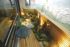 Water feature at balcony ideas for the house pinterest for Balcony design ideas malaysia