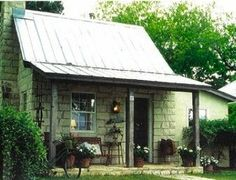 Fredericksburg, TX  Sunday houses are interesting,   people lived on farms thru the week and had a one room house in town Whole family slept in one room