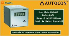 Hour Meters available at our portal