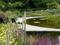 Boek: Great Garden Design, Contemporary Inspiration for Outdoor Spaces Manor Garden, Dream Garden, Landscape Architecture, Landscape Design, Water Element, Lush Garden, Yard Design, Garden Projects, Garden Ideas