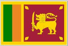 Bandera de #Sri #Lanka