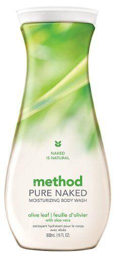 Method Pure Naked Moisturizing Body Wash - Olive Leaf with Aloe Vera -- 18 fl oz by Method, http://www.amazon.com/dp/B0073RSENI/ref=cm_sw_r_pi_dp_RuJprb1SNDEFX
